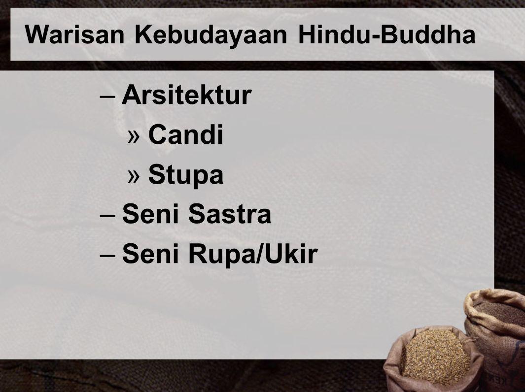 Warisan Kebudayaan Hindu-Buddha