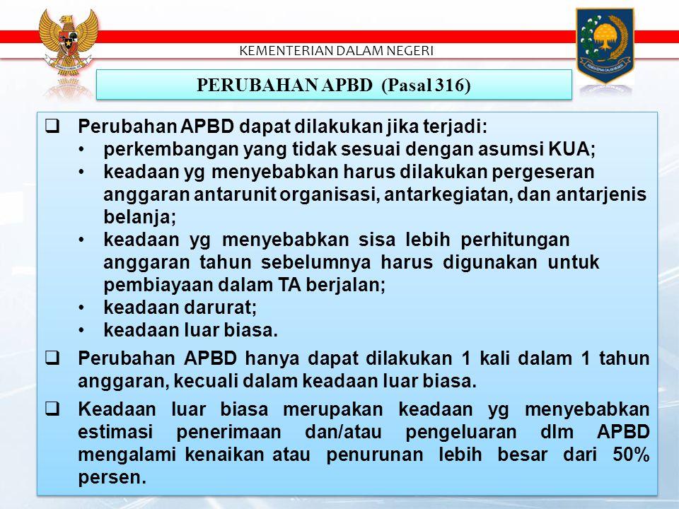 PERUBAHAN APBD (Pasal 316)