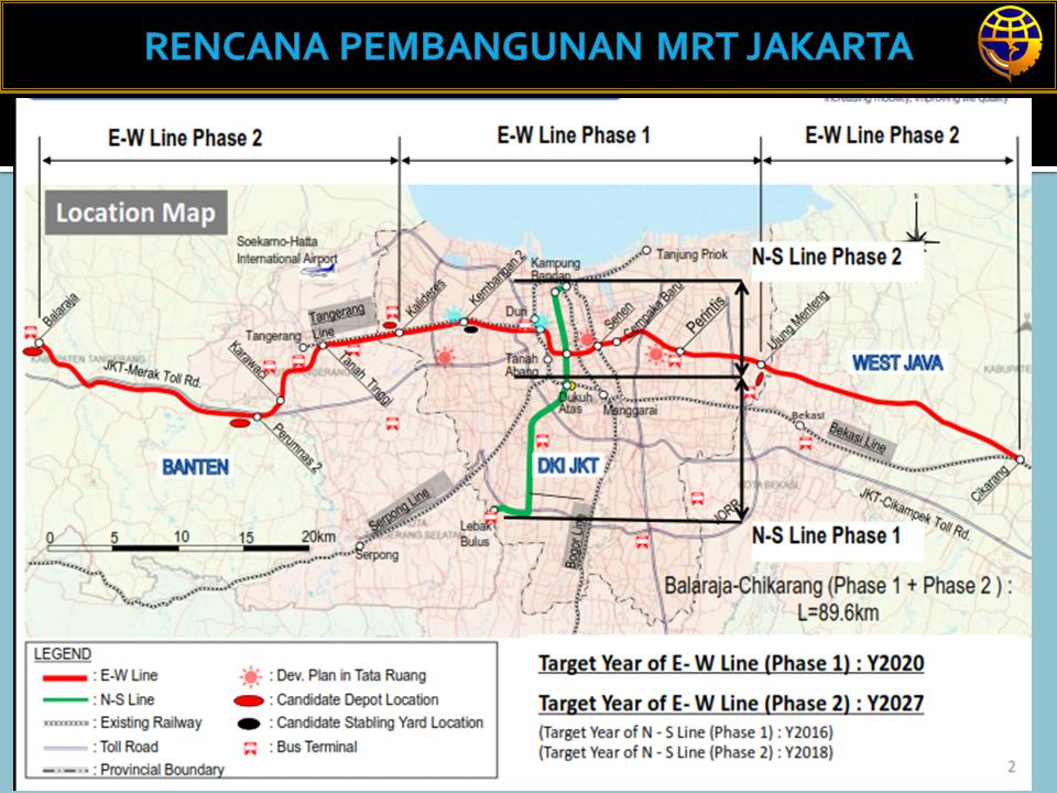 RENCANA PEMBANGUNAN MRT JAKARTA