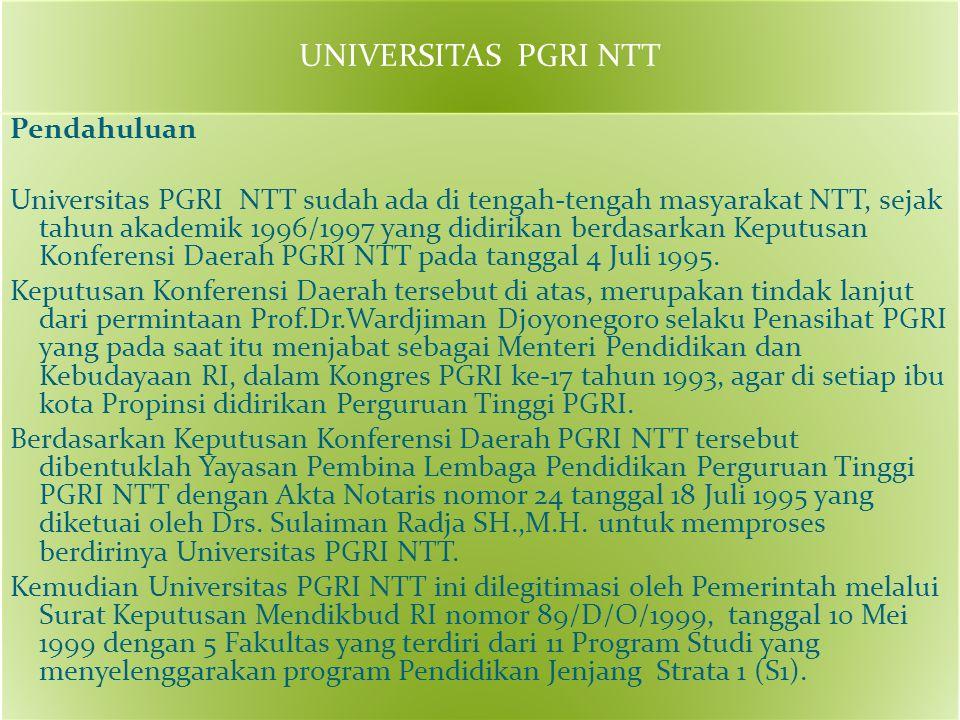 UNIVERSITAS PGRI NTT
