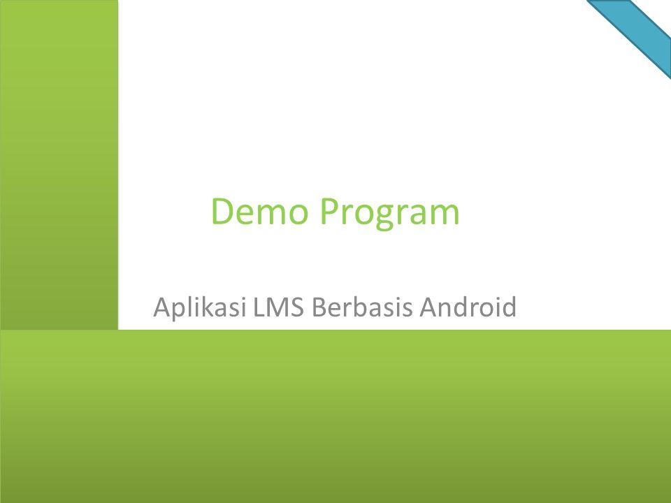 Aplikasi LMS Berbasis Android