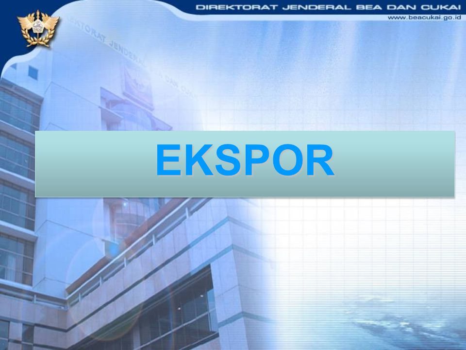 8 - 11 Nopember 2011 EKSPOR