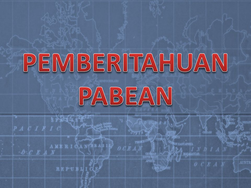 PEMBERITAHUAN PABEAN