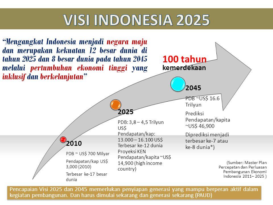 VISI INDONESIA 2025