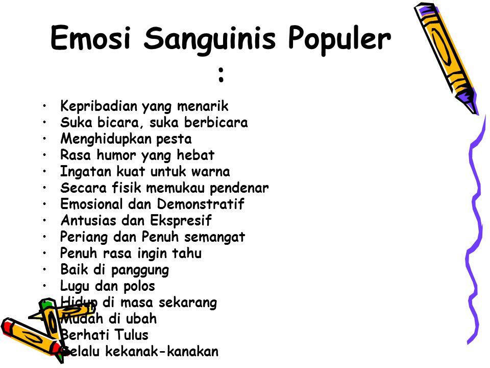 Emosi Sanguinis Populer :