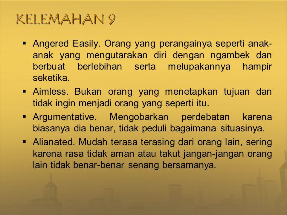 KELEMAHAN 9