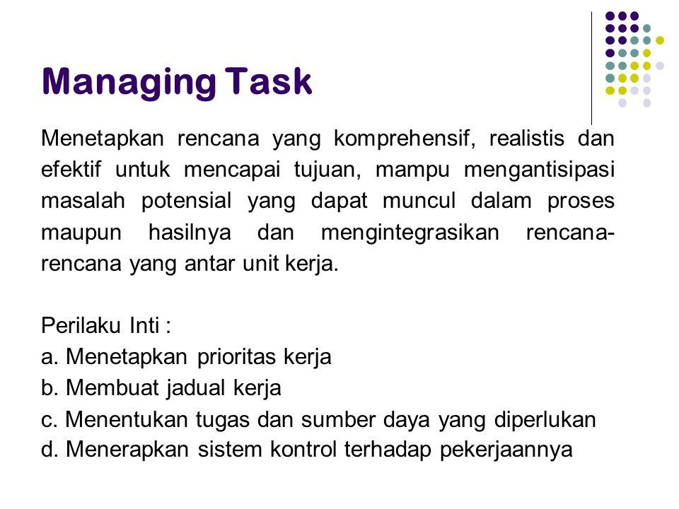 Managing Task