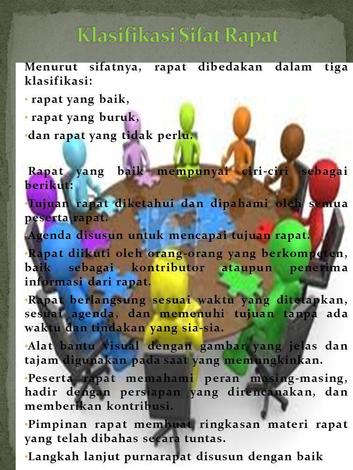 Klasifikasi Sifat Rapat