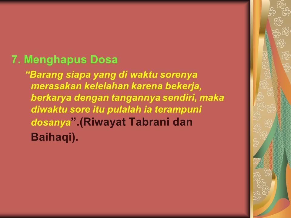7. Menghapus Dosa