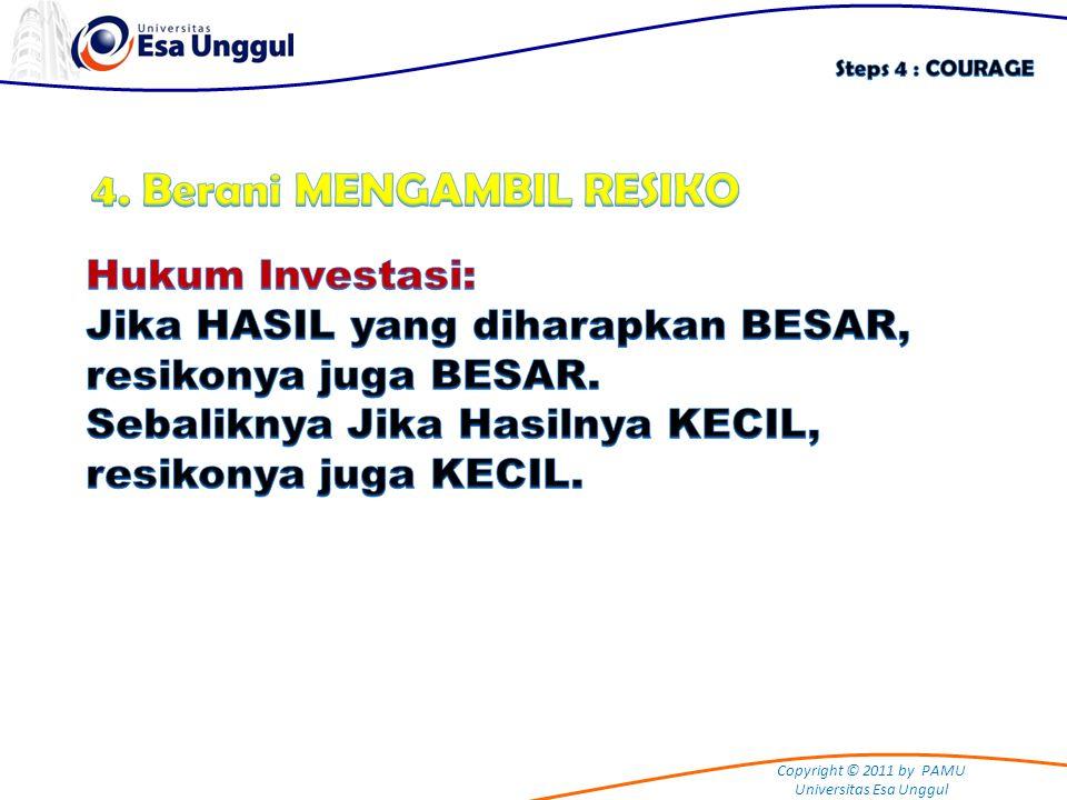 4. Berani MENGAMBIL RESIKO