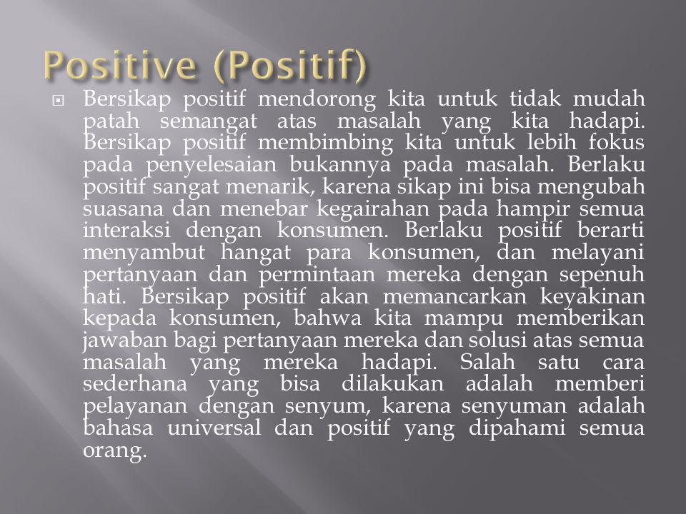 Positive (Positif)