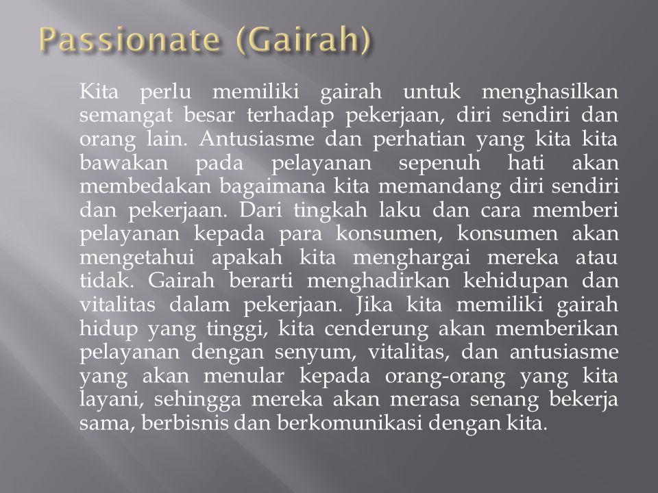 Passionate (Gairah)