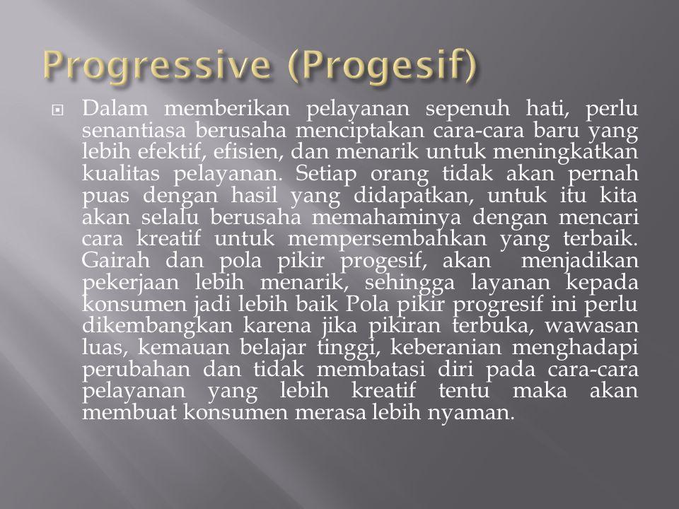 Progressive (Progesif)