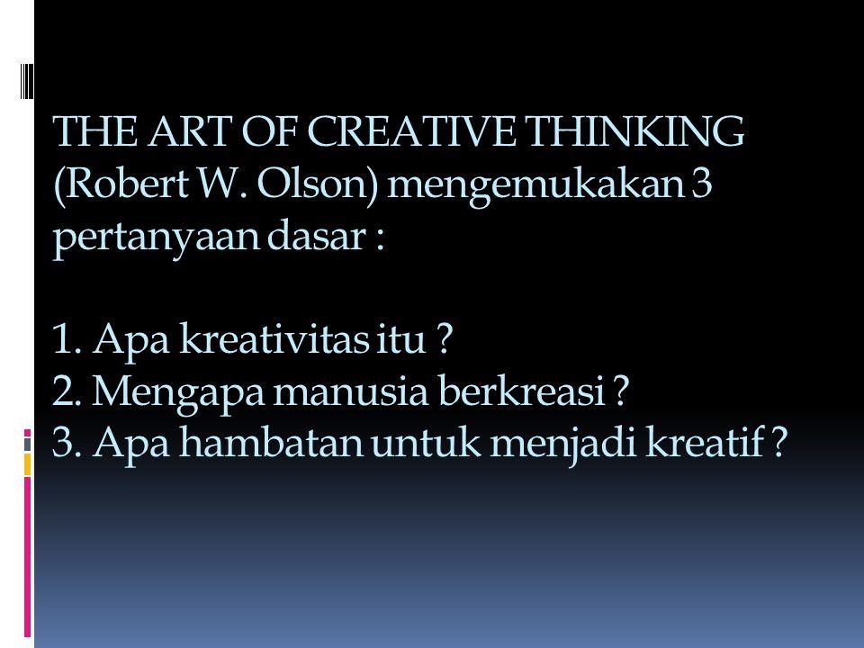THE ART OF CREATIVE THINKING (Robert W