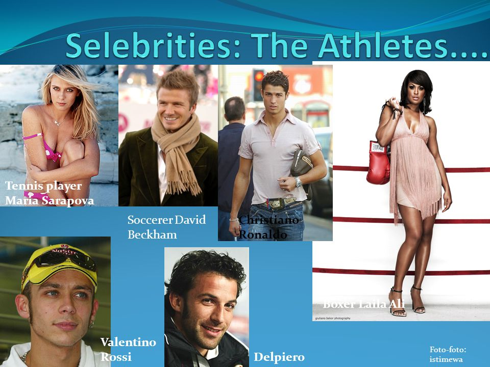 Selebrities: The Athletes....