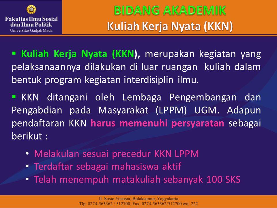 Kuliah Kerja Nyata (KKN)