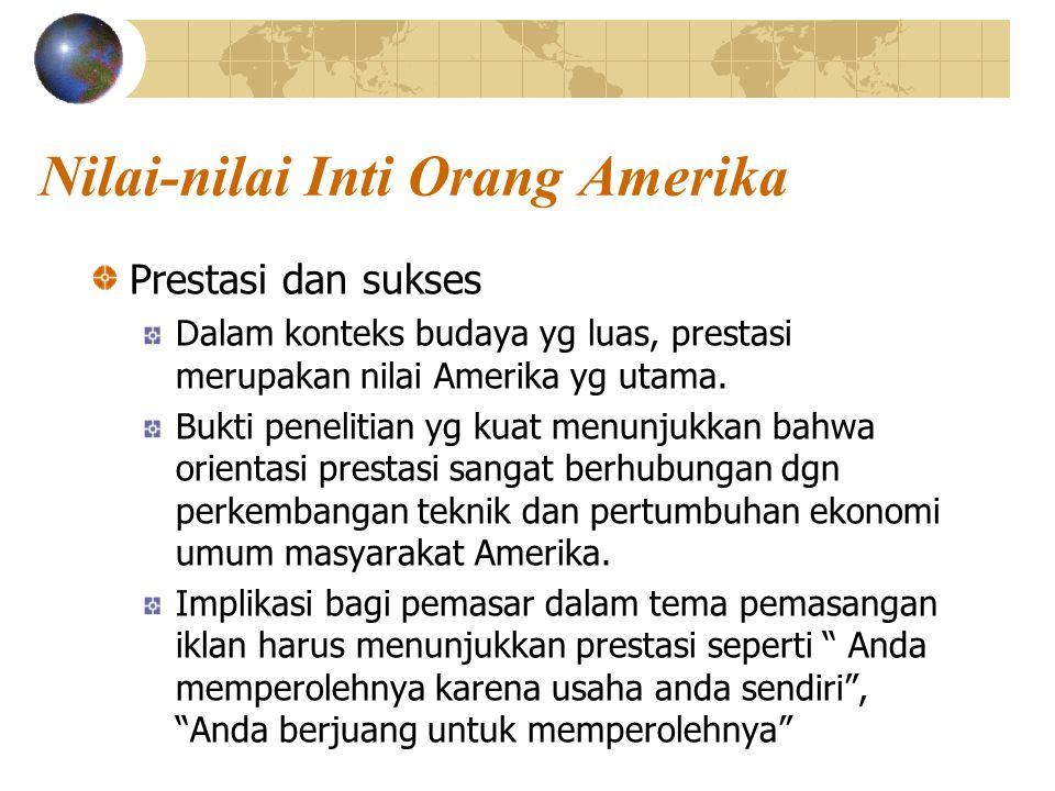 Nilai-nilai Inti Orang Amerika