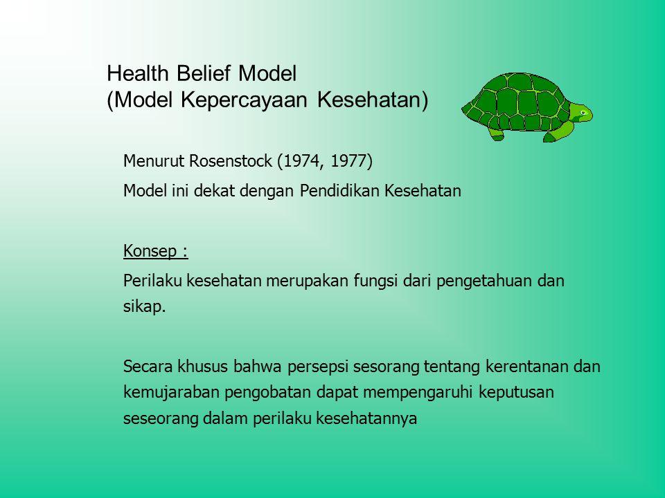 Health Belief Model (Model Kepercayaan Kesehatan)