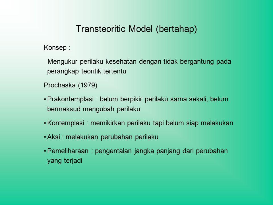 Transteoritic Model (bertahap)