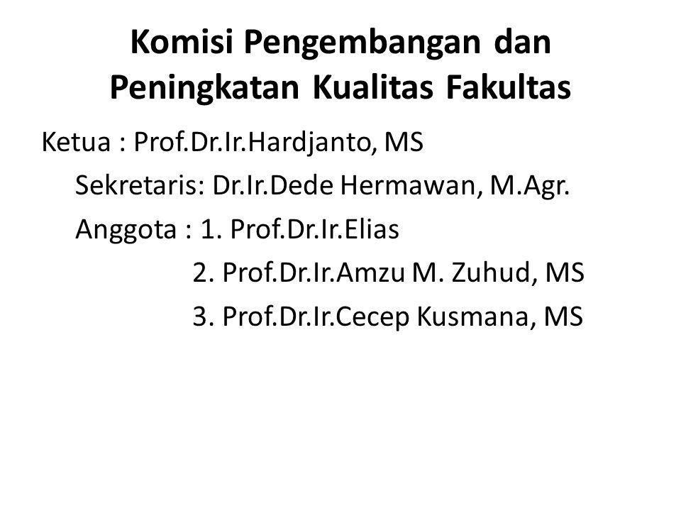 Komisi Pengembangan dan Peningkatan Kualitas Fakultas