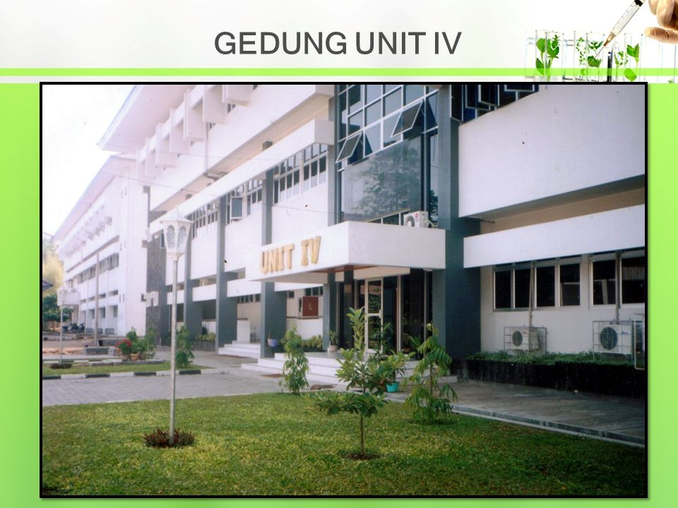 GEDUNG UNIT IV