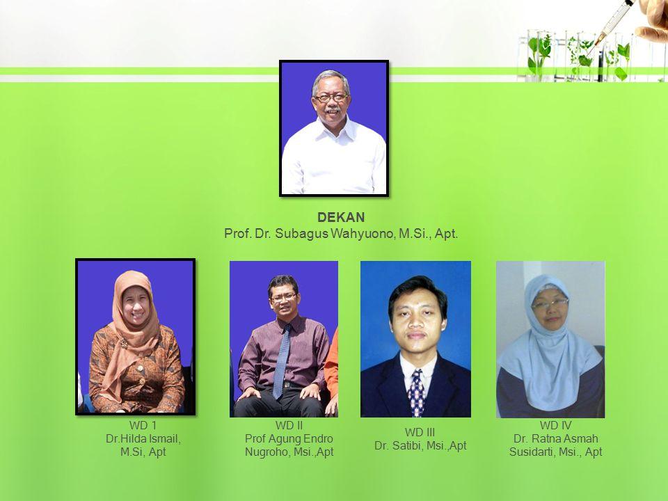WD 1 Dr.Hilda Ismail, M.Si, Apt