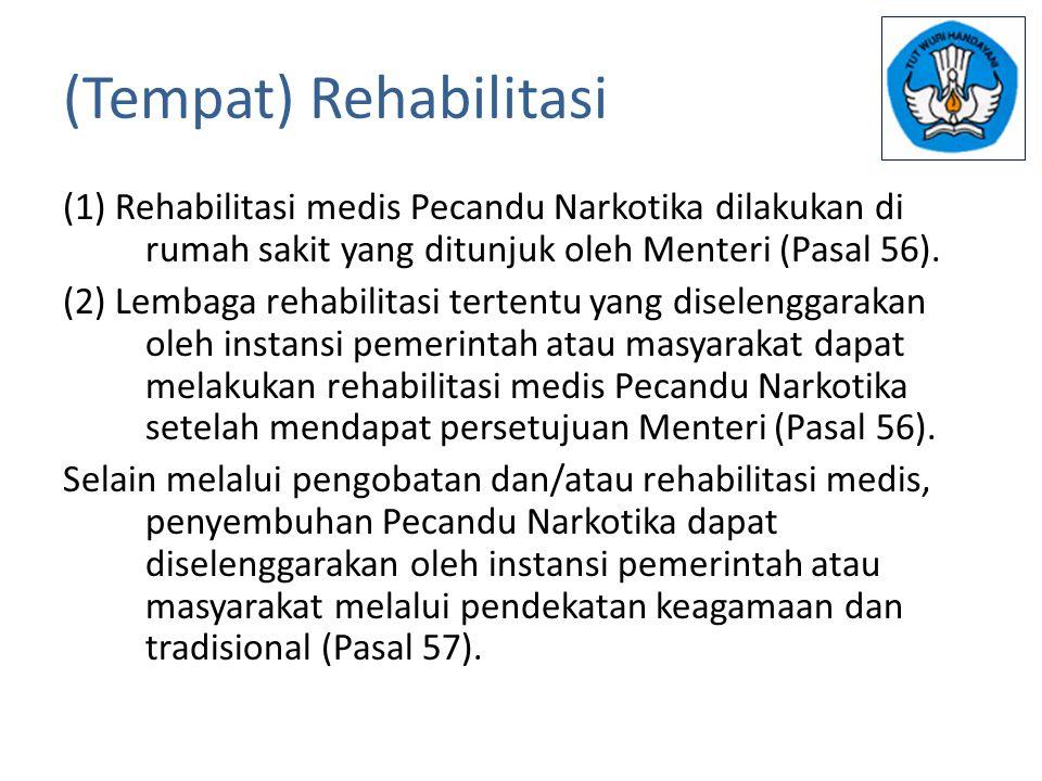 (Tempat) Rehabilitasi