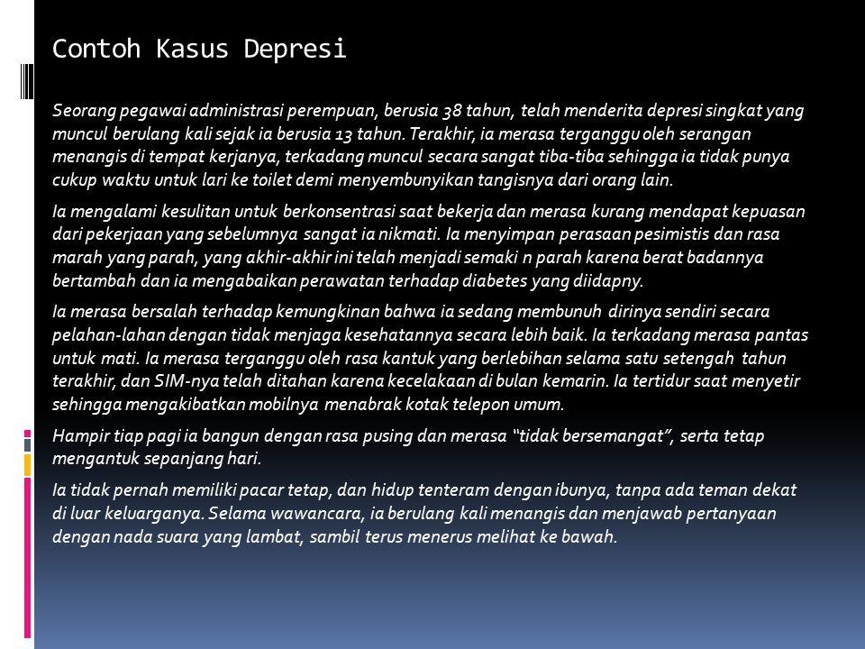 Contoh Kasus Depresiayor