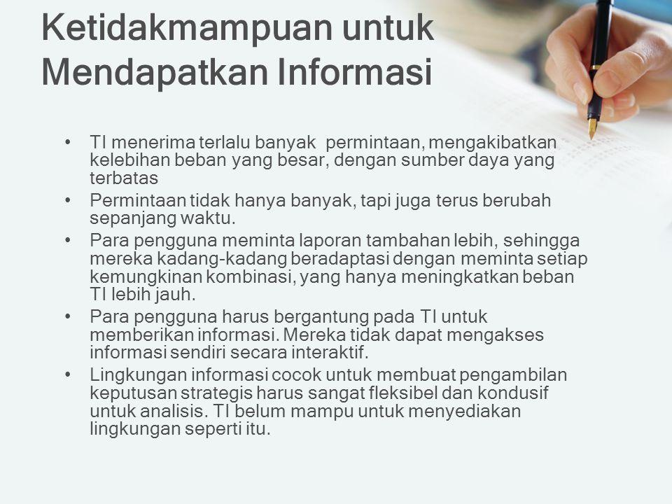 Ketidakmampuan untuk Mendapatkan Informasi