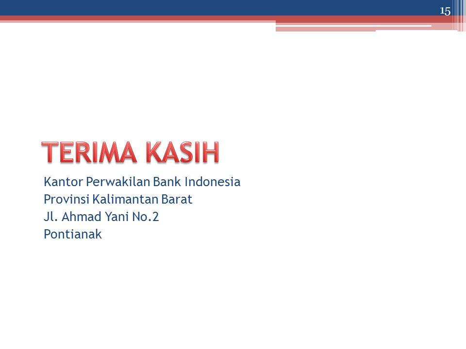 TERIMA KASIH Kantor Perwakilan Bank Indonesia