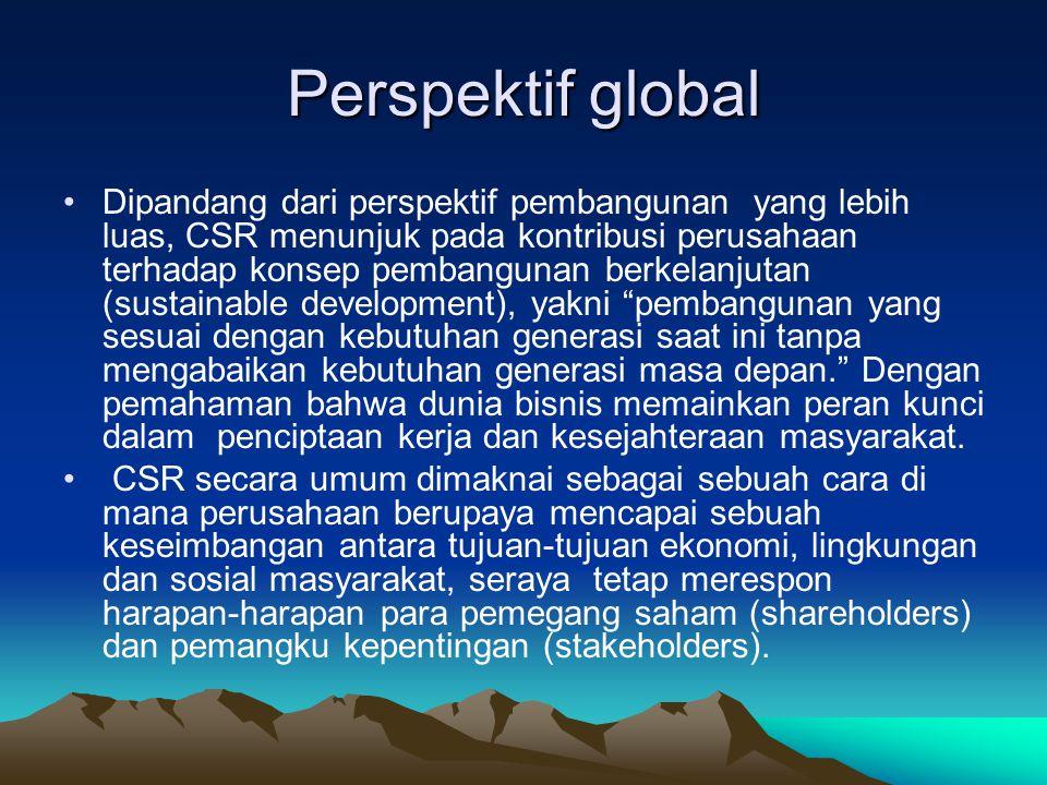 Perspektif global