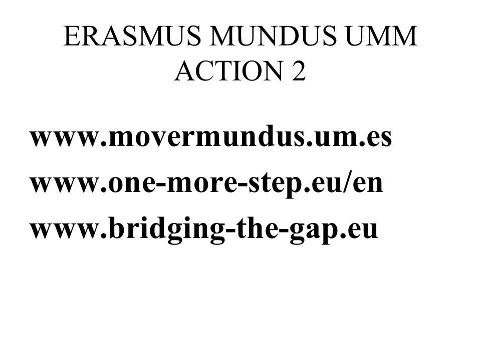 ERASMUS MUNDUS UMM ACTION 2