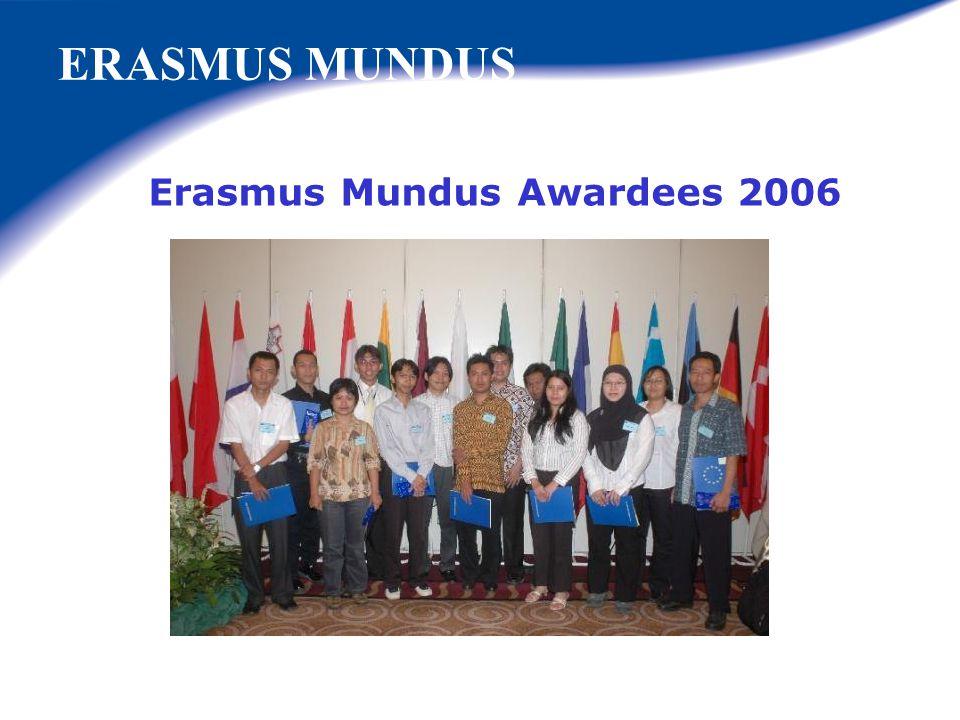 Erasmus Mundus Awardees 2006