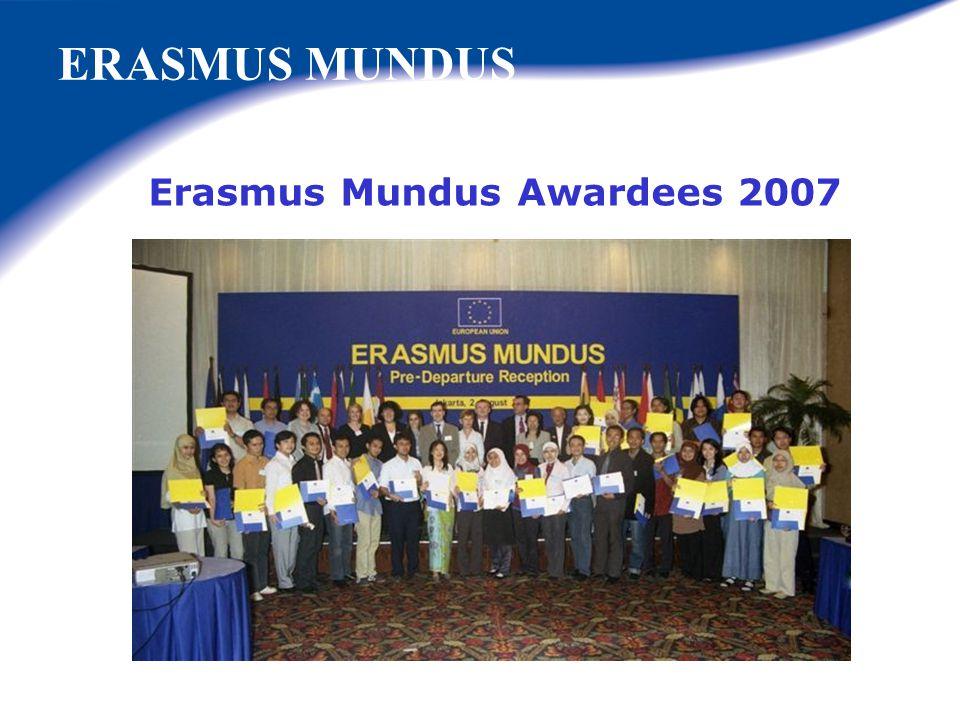 Erasmus Mundus Awardees 2007
