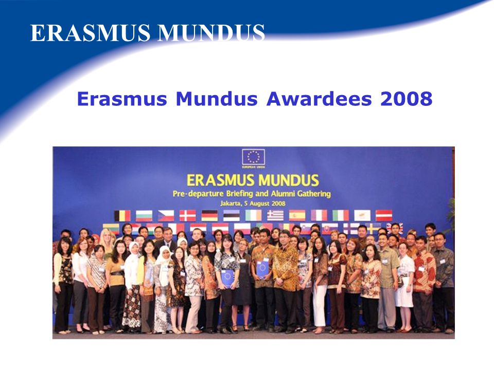 Erasmus Mundus Awardees 2008