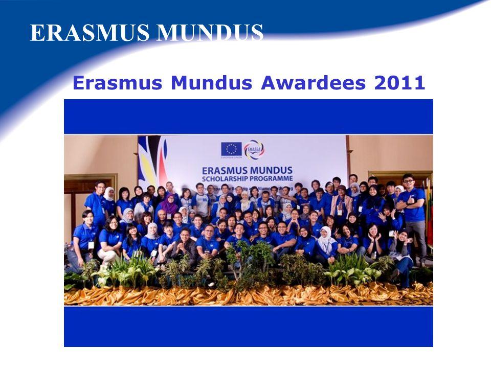 Erasmus Mundus Awardees 2011