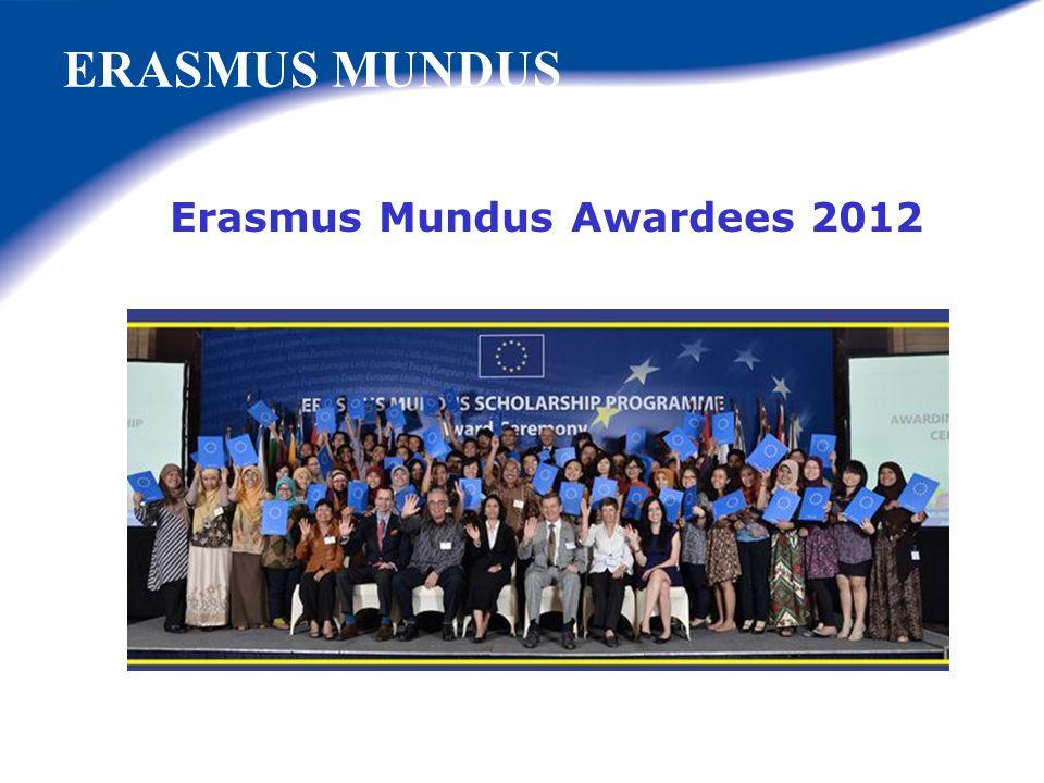 Erasmus Mundus Awardees 2012