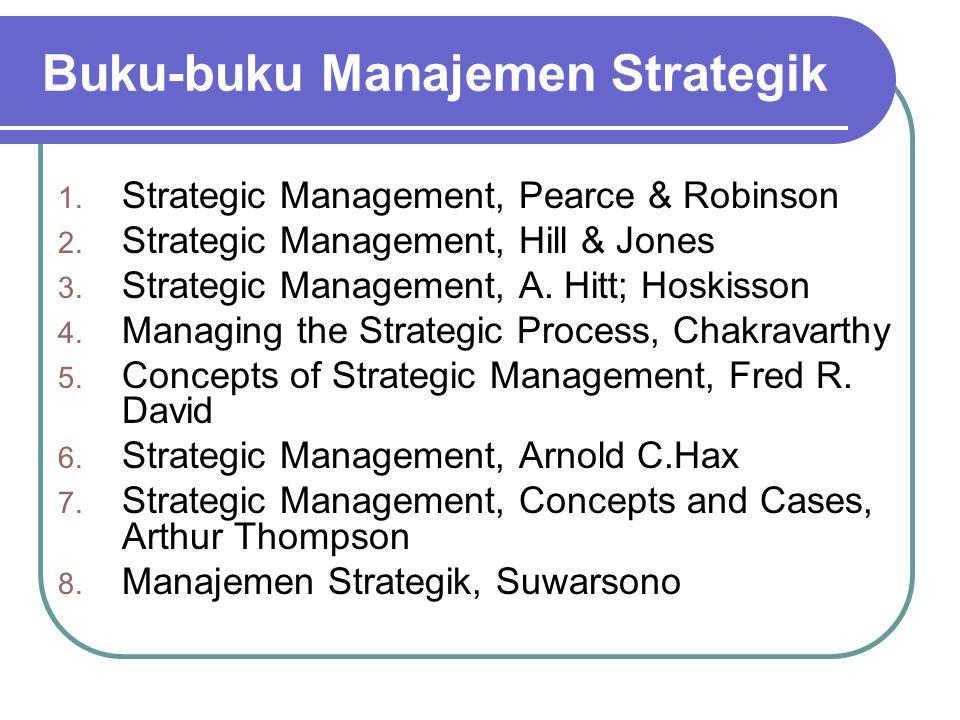 Buku-buku Manajemen Strategik