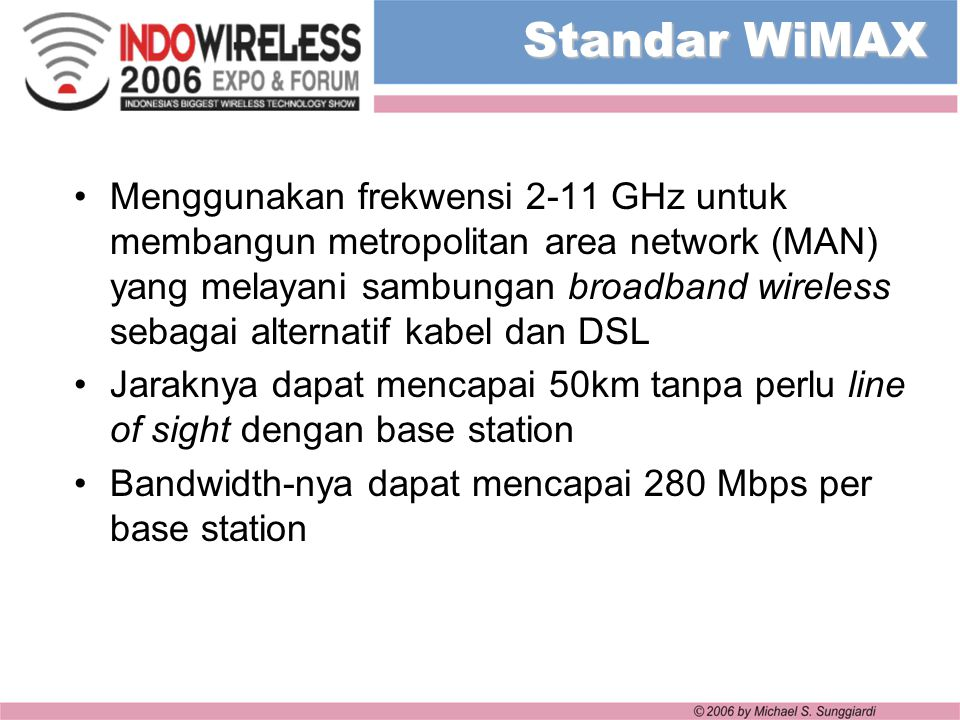 Standar WiMAX