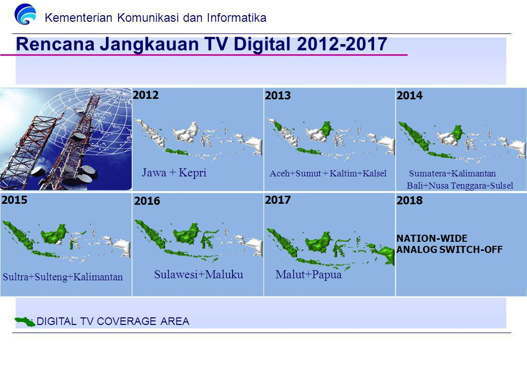 Rencana Jangkauan TV Digital 2012-2017