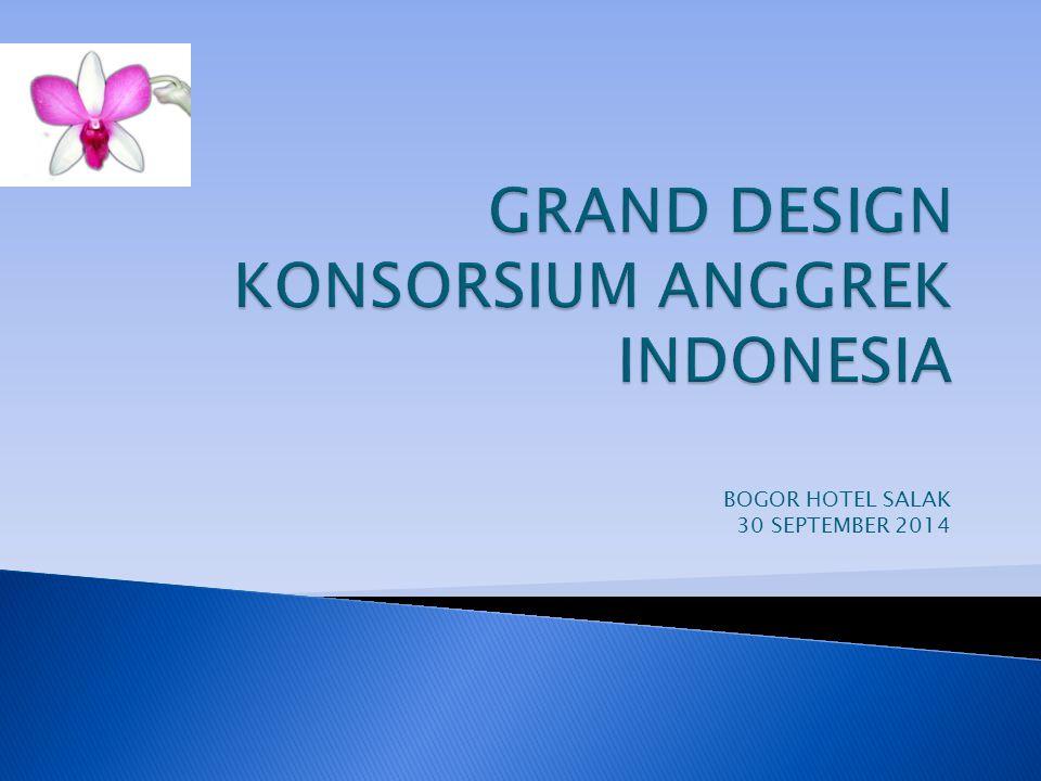 GRAND DESIGN KONSORSIUM ANGGREK INDONESIA