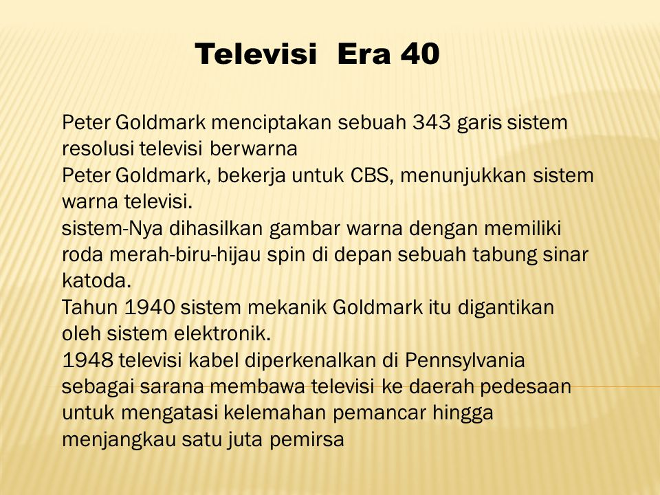 Televisi Era 40