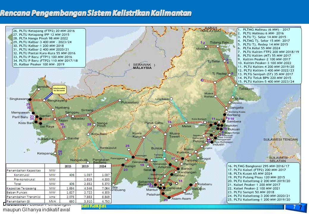 Rencana Pengembangan Sistem Kelistrikan Kalimantan