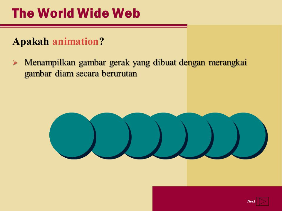 The World Wide Web Apakah animation