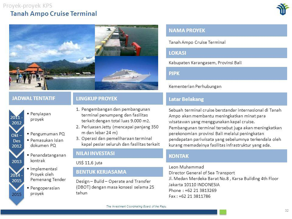 Tanah Ampo Cruise Terminal