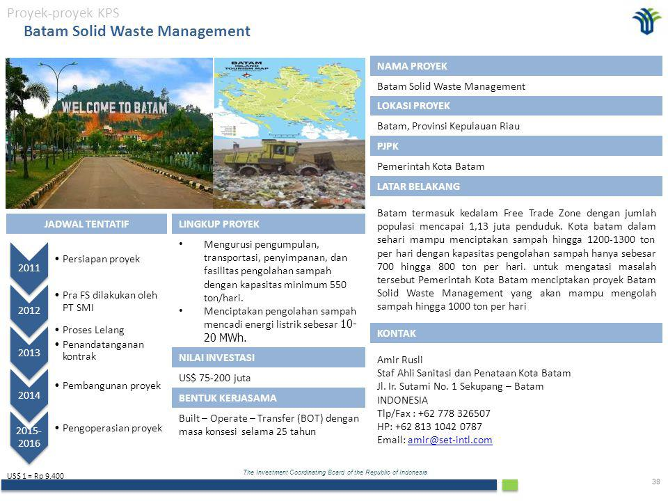 Batam Solid Waste Management