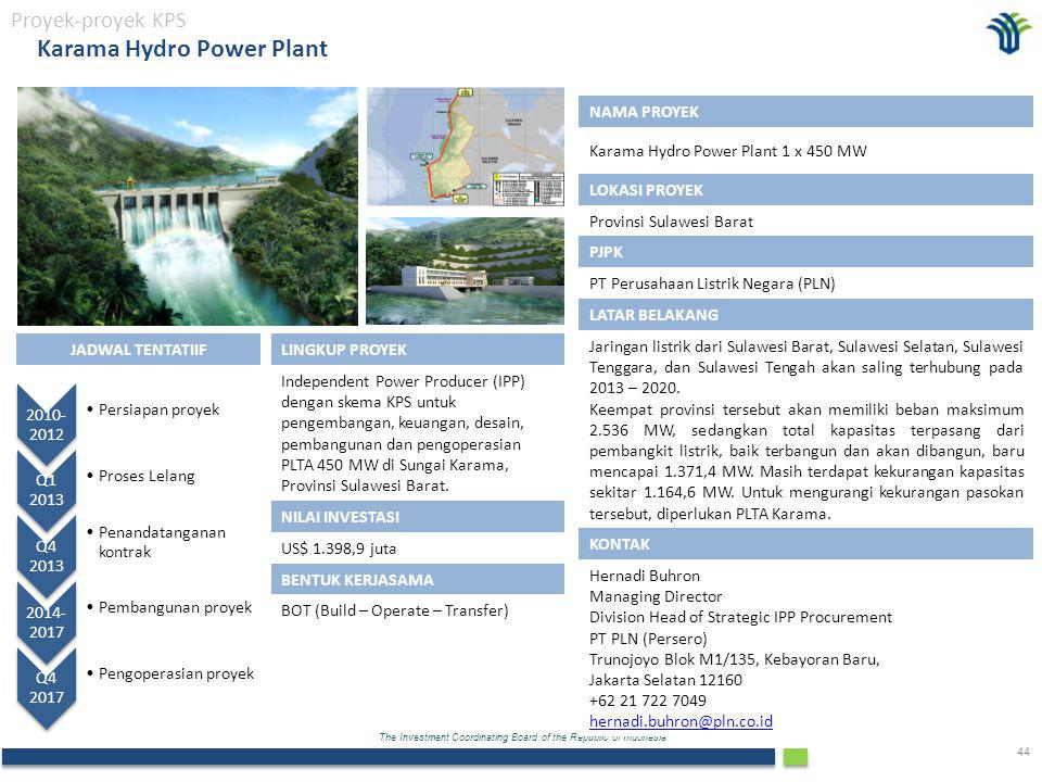 Karama Hydro Power Plant