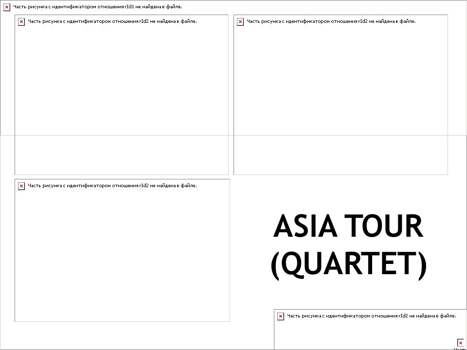 ASIA TOUR (QUARTET)