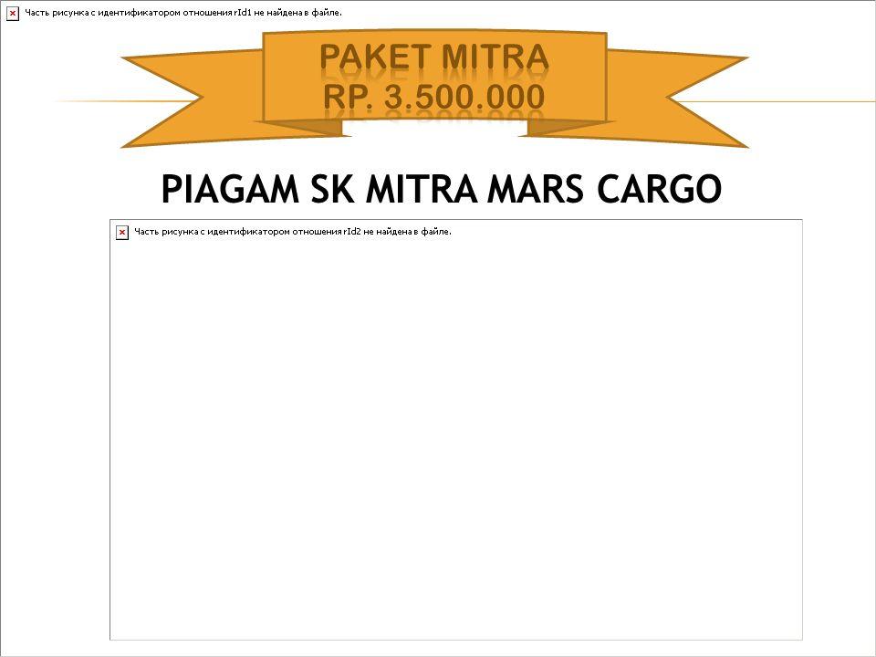 PIAGAM SK MITRA MARS CARGO