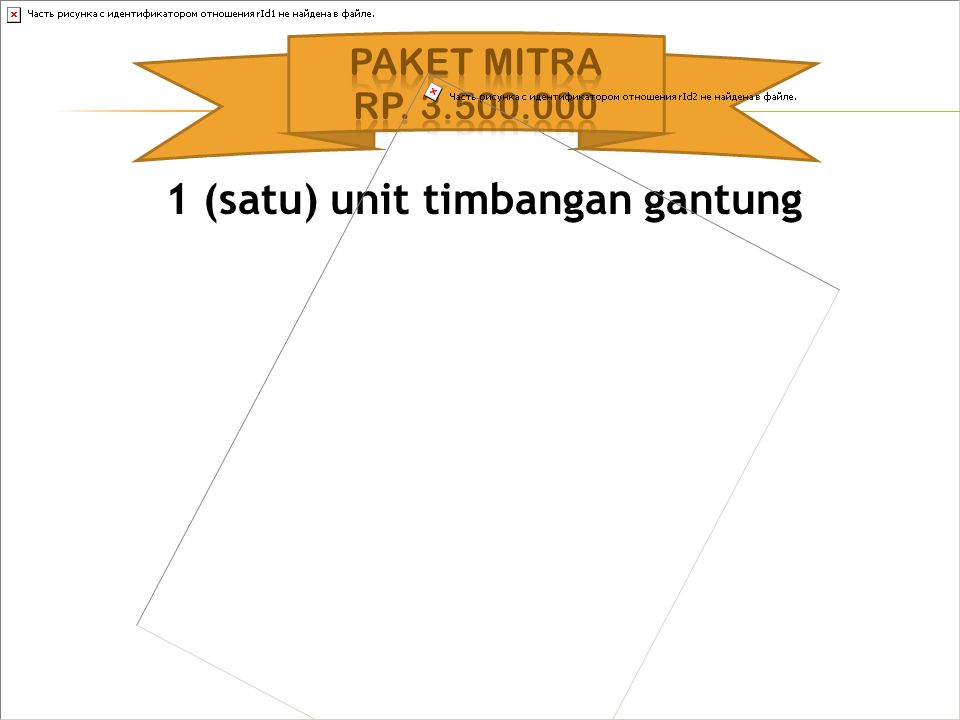 1 (satu) unit timbangan gantung